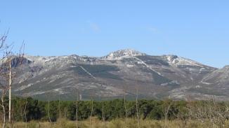 pico Sanguiñal nevado de nuevo